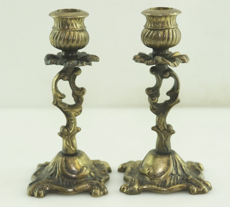 antique art nouveau chandelier en laiton lustre de table bougie style ebay. Black Bedroom Furniture Sets. Home Design Ideas