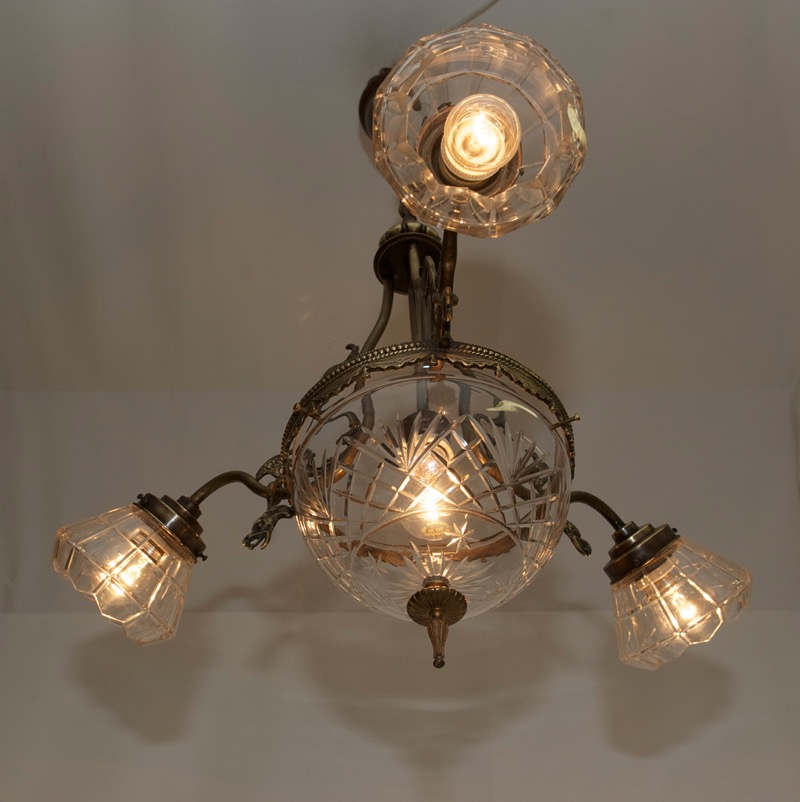 Lampadario Art Deco Jugendstil Lampada Luce Illuminazione ...