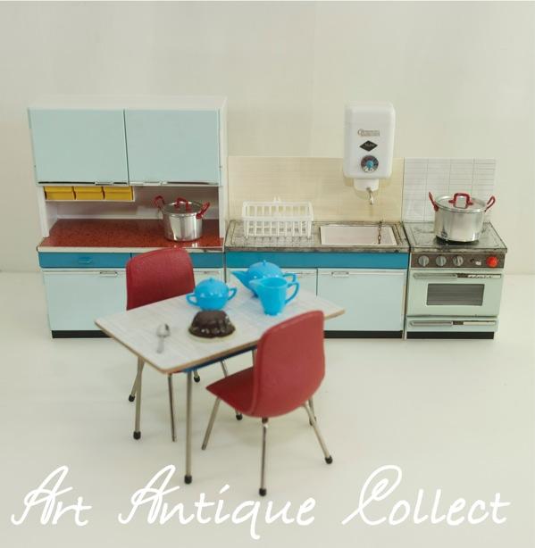 ... -cucina-bambole-mobili-bambole-Tube-mobili-da-cucina-60er-anni-Gabi