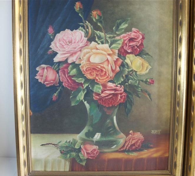 Ebay for Fiori dipinti ad olio