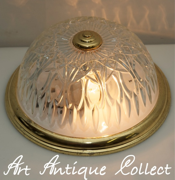 plafonier lampe plafond lampe couloir lampe vintage plafonier lamp plafond verre. Black Bedroom Furniture Sets. Home Design Ideas