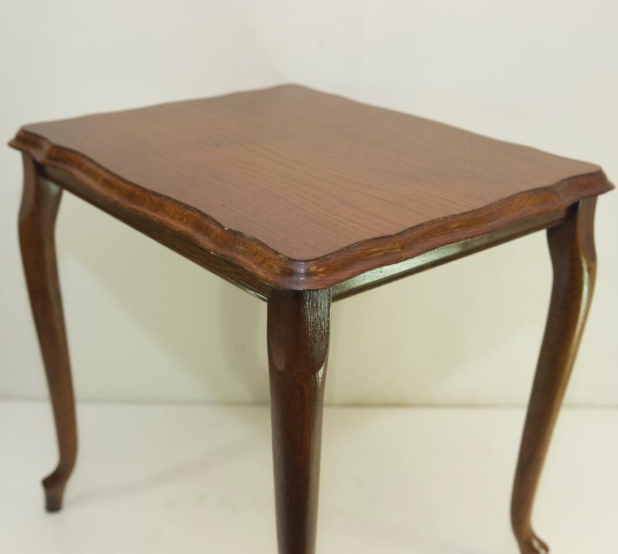 Piernas de mesa de roble vintage