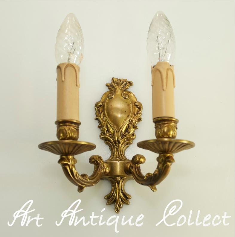 wandlampe im jugendstil lampe alte wandlampe antik messing. Black Bedroom Furniture Sets. Home Design Ideas